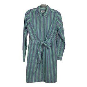 Calvin Klein Womens Dress Shirtdress Long Sleeve 4
